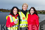 Ann Moore (Tralee), Deirdre Donneghy (Tralee) Judy Dillan (Tralee) at the Let's get Kerry walking, National Operation Transformation Walk.