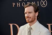 "LOS ANGELES, USA. June 05, 2019: Michael Fassbender at the premiere for ""X-Men: Dark Phoenix"" at Paramount Theatre.<br /> Picture: Paul Smith/Featureflash"