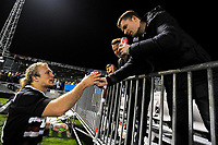 Matt Matich has a beer with friends after the 2017 DHL Lions Series rugby union match between the NZ Provincial Barbarians and British & Irish Lions at Toll Stadium in Whangarei, New Zealand on Saturday, 3 June 2017. Photo: Dave Lintott / lintottphoto.co.nz
