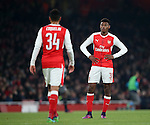 Arsenal's Jeff Reine-Adelaide looks on dejected during the EFL Cup match at the Emirates Stadium, London. Picture date October 30th, 2016 Pic David Klein/Sportimage