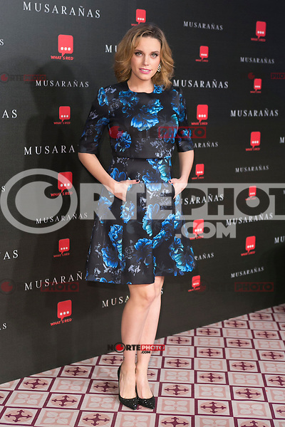 "Carolina Bang attend the Premiere of the movie ""Musaranas"" in Madrid, Spain. December 17, 2014. (ALTERPHOTOS/Carlos Dafonte) /NortePhoto /NortePhoto.com"