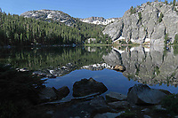 Courtesy photo/JIM WARNOCK<br /> Mountains, forest and natural lakes are seen on the John Muir Trail.