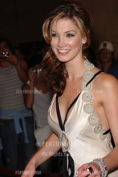 Singer DELTA GOODREM at the 2005 World Music Awards at the Kodak Theatre, Hollywood, CA..August 31, 2005  Los Angeles, CA..© 2005 Paul Smith / Featureflash