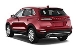 Car pictures of rear three quarter view of a 2015 Lincoln MKC FWD 5 Door SUV Angular Rear