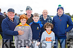 Attending the Kilflynn coursing meeting on Sunday.<br /> Front l-r, Killian Mulcahy, Adam and Ben Lynch.<br /> Back l-r, Ned Brown, Jack Carroll, Mike Slattery and Ger Lynch.