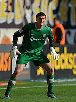 Fussball 2. Bundesliga Saison 2011/2012 13. Spieltag Dynamo Dresden - Karlsruher SC Wolfgang HESL (Dynamo Dresden).