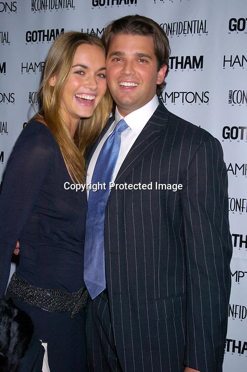 Vanessa Hayden And Donald Trump Jrat The Gotham LA Confidential