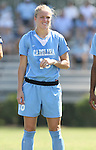 23 September 2007: North Carolina's Rachel Givan. The University of North Carolina Tar Heels defeated the University of San Francisco Dons 2-0 at Koskinen Stadium in Durham, North Carolina in an NCAA Division I Women's Soccer game, and part of the annual Duke Adidas Classic tournament.