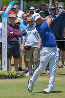 David Lingmerth (SWE) watches his tee shot on 1 during round 2 of the AT&amp;T Byron Nelson, Trinity Forest Golf Club, at Dallas, Texas, USA. 5/18/2018.<br /> Picture: Golffile | Ken Murray<br /> <br /> <br /> All photo usage must carry mandatory copyright credit (&copy; Golffile | Ken Murray)