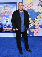 "12 February 2020 - Los Angeles, California - Tim Miller. ""Sonic the Hedgehog"" Los Angeles Premiere held at the Regency Village Theater. Photo Credit: Birdie Thompson/AdMedia"