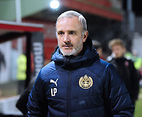 South Shield's joint manager Lee Picton<br /> <br /> Photographer Andrew Vaughan/CameraSport<br /> <br /> The FA Youth Cup Second Round - Lincoln City U18 v South Shields U18 - Tuesday 13th November 2018 - Sincil Bank - Lincoln<br />  <br /> World Copyright © 2018 CameraSport. All rights reserved. 43 Linden Ave. Countesthorpe. Leicester. England. LE8 5PG - Tel: +44 (0) 116 277 4147 - admin@camerasport.com - www.camerasport.com