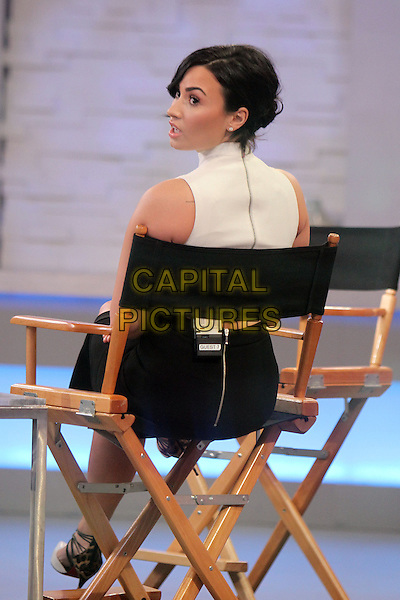 NEW YORK, NY - MARCH 12: Demi Lovato at Good Morning America promoting her new skin care line,  Devonne by Demi in New York City on March 12, 2015. <br /> CAP/MPI/RW<br /> &copy;RW/MPI/Capital Pictures
