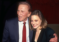 Kirk Douglas and Jodie Foster 1985<br /> Photo By John Barrett/PHOTOlink.net