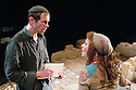 Paul,a new playu by Howard Brenton. With Adam Godley as Paul ,Kellie Bright as Mary Magdalene. Opens at the Cottesloe Theatre on 9/11/05. CREDIT Geraint Lewis
