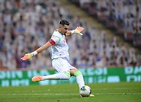5th July 2020, Goalkeeper Ugurcan Cakir of Trabzonspor during the Turkish Super league football match between Galatasaray and Trabzonspor at Turk Telekom Stadium in Istanbul . Premier League Chelsea have agreed to sign the goalkeeper on a permanent basis