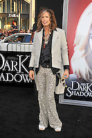 Steven Tyler at the premiere of Warner Bros. Pictures' 'Dark Shadows' at Grauman's Chinese Theatre on May 7, 2012 in Hollywood, California. © mpi35/MediaPunch Inc.