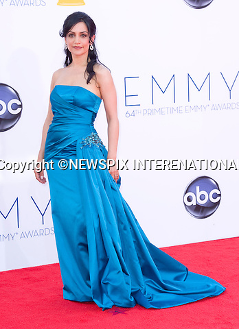"ARCHIE PANJABI - 64TH PRIME TIME EMMY AWARDS.Nokia Theatre Live, Los Angelees_23/09/2012.Mandatory Credit Photo: ©Dias/NEWSPIX INTERNATIONAL..**ALL FEES PAYABLE TO: ""NEWSPIX INTERNATIONAL""**..IMMEDIATE CONFIRMATION OF USAGE REQUIRED:.Newspix International, 31 Chinnery Hill, Bishop's Stortford, ENGLAND CM23 3PS.Tel:+441279 324672  ; Fax: +441279656877.Mobile:  07775681153.e-mail: info@newspixinternational.co.uk"