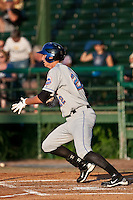 Stefan Welch (22) of the St. Lucie Mets during a game vs. the Daytona Cubs May 17 2010 at Jackie Robinson Ballpark in Daytona Beach, Florida. St. Lucie won the game against Daytona by the score of 5-2.  Photo By Scott Jontes/Four Seam Images
