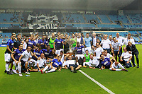 SS Lazio's player celebrate the victory in the XXXIII Costa del Sol Trophy. August 5,2017. (ALTERPHOTOS/Acero/Insidefoto)