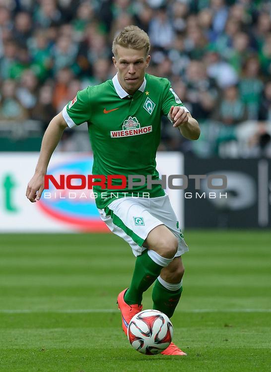 02.05.2015, Weserstadion, Bremen, GER, 1.FBL, Werder Bremen vs Eintracht Frankfurt, im Bild Janek Sternberg (Bremen #37)<br /> <br /> Foto &copy; nordphoto / Frisch