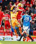 08.05.2018 Aberdeen v Rangers: Jak Alwick and Sam Cosgrove