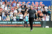 Steve Cooper Head Coach of Swansea City at full time during the Sky Bet Championship match between Swansea City and Birmingham City at the Liberty Stadium in Swansea, Wales, UK. Sunday 25, August 2019