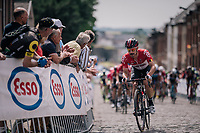 Victor Campenaerts (BEL/Lotto-Soudal)<br /> <br /> Belgian National Championships 2018 (road) in Binche (224km)<br /> &copy;kramon