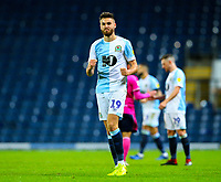 Blackburn Rovers' Ben Brereton celebrates after the final whistle<br /> <br /> Photographer Alex Dodd/CameraSport<br /> <br /> The EFL Sky Bet Championship - Blackburn Rovers v Queens Park Rangers - Saturday 3rd November 2018 - Ewood Park - Blackburn<br /> <br /> World Copyright © 2018 CameraSport. All rights reserved. 43 Linden Ave. Countesthorpe. Leicester. England. LE8 5PG - Tel: +44 (0) 116 277 4147 - admin@camerasport.com - www.camerasport.com