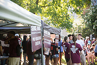 Service Dawgs -- check-in<br /> (photo by Mitch Phillips / &copy; Mississippi State University)