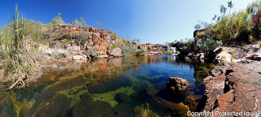 The Manning River at Manning Gorge on Mt Barnett Station, Kimberley, Western Australia