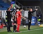 Auswechslung: Mere Jorge (1. FC Koeln) wird eingewechselt.<br /> <br /> Sport: Fussball: 1. Bundesliga: Saison 19/20: 28. Spieltag: TSG 1899 Hoffenheim - 1. FC Koeln, 27.05.2020<br /> <br /> Foto: Markus Gilliar/GES/POOL/PIX-Sportfotos.<br /> <br /> Nur für journalistische Zwecke! Only for editorial use!<br /> <br /> Gemäß den Vorgaben der DFL Deutsche Fußball Liga ist es untersagt, in dem Stadion und/oder vom Spiel angefertigte Fotoaufnahmen in Form von Sequenzbildern und/oder videoähnlichen Fotostrecken zu verwerten bzw. verwerten zu lassen. DFL regulations prohibit any use of photographs as image sequences and/or quasi-video.