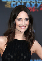 "HOLLYWOOD, CA - April 19: Mallory Jansen, At Premiere Of Disney And Marvel's ""Guardians Of The Galaxy Vol. 2"" At The Dolby Theatre  In California on April 19, 2017. Credit: FS/MediaPunch"