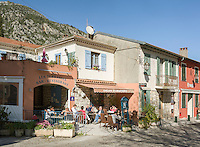 France, Provence-Alpes-Côte d'Azur, Gorbio: mountain village (Village Perché) between Roquebrune and Menton in the French Maritime Alps | Frankreich, Provence-Alpes-Côte d'Azur, Gorbio: Bergdorf (Village Perché) zwischen Roquebrune und Menton in den franzoesichen Seealpen, abseits der Touristenstroeme