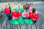 Tidy Tralee Together with volunteers from the Red Cross doing their weekly clean up which takes place every Thursday evening from 7-8pm.