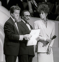 Dick Clark Quincy Jones Whitney Houston Undated<br /> Photo By John Barrett/PHOTOlink