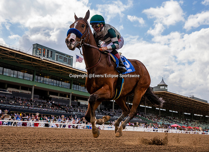 MAR 07: Gamine with Drayden Van Dyke wins a maiden race at Santa Anita Park in Arcadia, California on March 7, 2020. Evers/Eclipse Sportswire/CSM