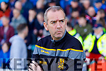 Dr Crokes Manager Pat O Shea at the Kerry Senior Football County Championship Semi Final between Dr Crokes and Kerins O'Rahillys at Austin Stack Park on Sunday.