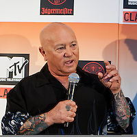 Angry Anderson at the media call for the MTV Classic launch at Maze Restaurant, Crown Metropole, Melbourne, 27 April 2010