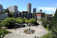 June 27th, 2016- A view of The Quad at Seattle University.