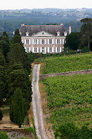 Vineyard. Chateau de la Coulee de Serrant. Savennieres, Anjou, Loire, France