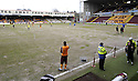 27/02/2010  Copyright  Pic : James Stewart.sct_jspa03_motherwell_v_kilmarnock  .::  AN AREA OF THE PITCH AT FIR PARK IN FRONT OF THE DUG OUTS IS CORDONED OFF TO STOP PLAYERS FROM WARMING UP ON THE AREA :: .James Stewart Photography 19 Carronlea Drive, Falkirk. FK2 8DN      Vat Reg No. 607 6932 25.Telephone      : +44 (0)1324 570291 .Mobile              : +44 (0)7721 416997.E-mail  :  jim@jspa.co.uk.If you require further information then contact Jim Stewart on any of the numbers above.........