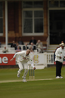 London, GREAT BRITAIN, David WIGLEY, during the first session  the Liverpool Victoria Div 2 County championship match between  Middlesex vs Northamptonshire, at Lords Cricket ground, England on Wed 25.04.2007  [Photo, Peter Spurrier/Intersport-images].....