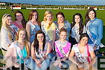 QUEENS: Some of the ladies of Ballyheigue who will be going for the title of the Ballyheigue Summer Festival 2013 Queen of Ballyheigue,Vicky Barron (Whites Sands Hotel), Shannon Lowe (Kilmoyley Resource Centre), Suzanne Barron (The Daily Grind) and Melissa Kiely (Flahive's Bar). Back l-r: Holly Carroll (Kirby's Bar Ballyheigue), Deboragh Barry (Marian Park, Ballyheigue), Lauren Fitzmaurice (The Seashells,Ballyheigue), Louise O'Flahertyu (Huckleberry's) Bríd Kenny ((Galways Fuels),Cynthia Barrett (Godleys Ballyheigue) and Isobel O'Connor (Brassil's,Ballyheigue).