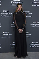 """Ana Beatrix Barros attends the gala night for official presentation of the Presentation of the Pirelli Calendar 2019 """"The cal"""" held at the Hangar Bicocca. Milan (Italy) on december 5, 2018. Credit: Action Press/MediaPunch ***FOR USA ONLY***"""