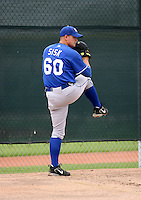 Brandon Sisk / Kansas City Royals 2008 Instructional League..Photo by:  Bill Mitchell/Four Seam Images