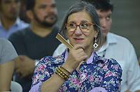 SAO PAULO, 13 DE MARCO DE 2013 - DIALOGO LGBT SP - O cartunista Laerte em roda de dialogo social, a fim de efetivar monitoramento das políticas de promoção dos direitos humanos e da cidadania LGBT em São Paulo, na noite desta quarta feira, 13, na Galeria Prestes Maia, regiao central. (FOTO: ALEXANDRE MOREIRA / BRAZIL PHOTO PRESS)