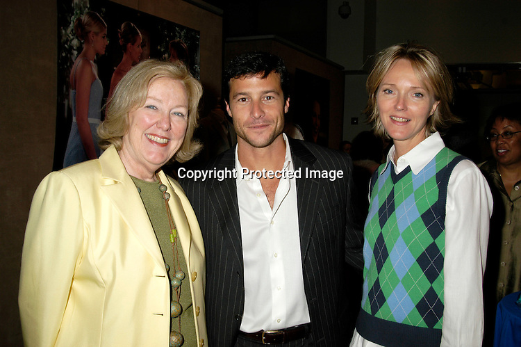 Mary Alice Dwyer Dobbin, Mark Collier and Ellen Wheeler                                ..at the New York Women in Film & Television's Fifth Annual Designing Hollywood Gala on June  23, 2004 at Sotheby's New York. ..Photo by Robin Platzer, Twin Images..Maggie Delgado, Costume Designer of As The World Turns,..Aude Bronson-Howard, and Naomi Donne were all ..honored and were on a panel.