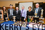 Jennifer Conway, Mike Kelleher, Paul Wallace, Stephen Buckley, Elaine O'Connell, Tommy Molyneaux at the  Lixnaw GAA club annual social at Ballyroe Heights hotel on Saturday