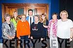Sandra Helmor, Venetia Lee, Dorothy Sullivan, Philis Winicinsk, Alicha Leysha, Nancy Chmabers and Ann Conroy fans from USA and Dublin meet Daniel O'Donnell at his concert in the INEC on Tuesday night