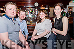 At the Macra na Feirme fundraising dance in The Manor Inn Killorglin on Saturday, seated L-R: John Michael Fitzgerald, Maurice Roche, Cliona Broderick & Christine Buckley.